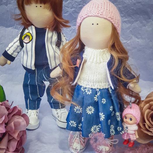Интерьерная кукла Зоя