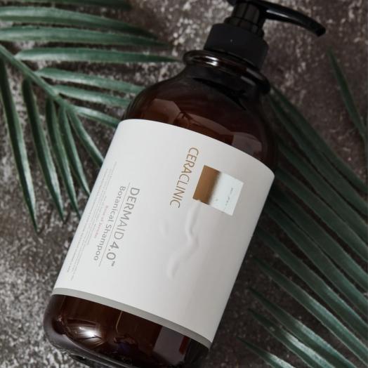 Шампунь реструктурирующий Ceraclinic Dermaid 4.0 Botanical Shampoo  на растительной основе, 1л
