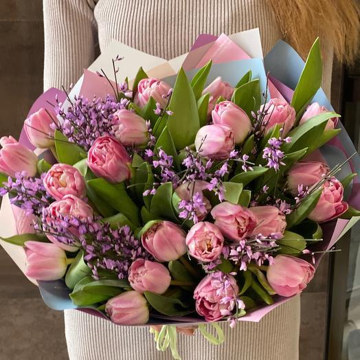 Пудповые тюльпаны