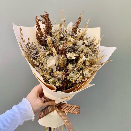 Букет из сухоцветов «Клара»