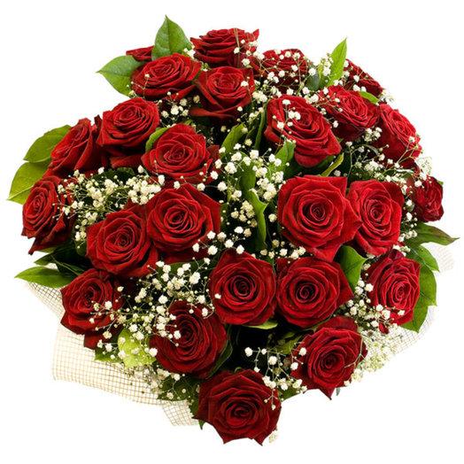 Букет из роз Флер: букеты цветов на заказ Flowwow