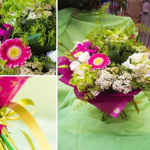 Букет 217: букеты цветов на заказ Flowwow