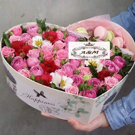 F eur: букеты цветов на заказ Flowwow