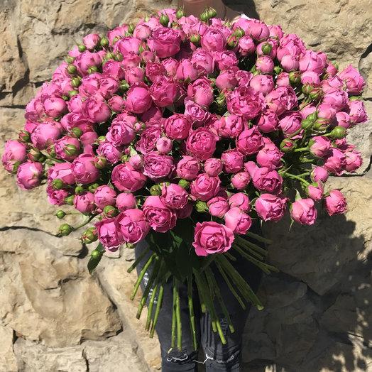 Букет из 51 розы Мисти Баблз: букеты цветов на заказ Flowwow