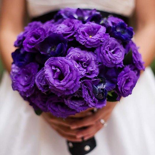 Букет невесты «Виолетта»: букеты цветов на заказ Flowwow