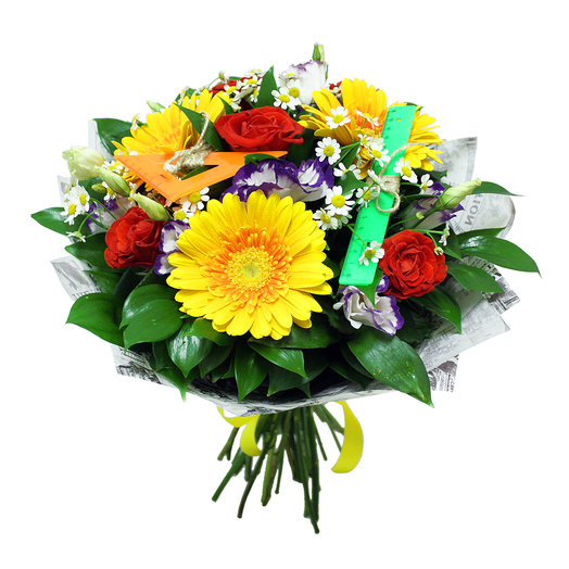 Букет Первое сентября: букеты цветов на заказ Flowwow
