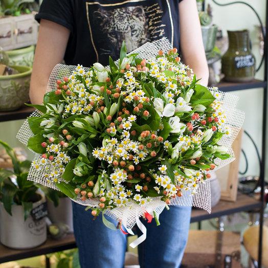Букет цветов Полевой: букеты цветов на заказ Flowwow
