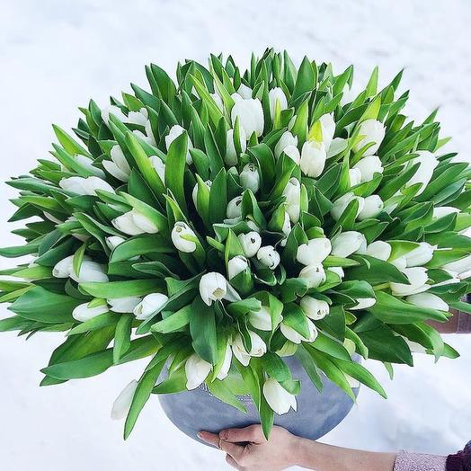 Море Тюльпанов : букеты цветов на заказ Flowwow