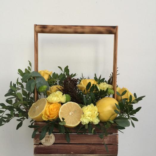 Чай с лимоном: букеты цветов на заказ Flowwow