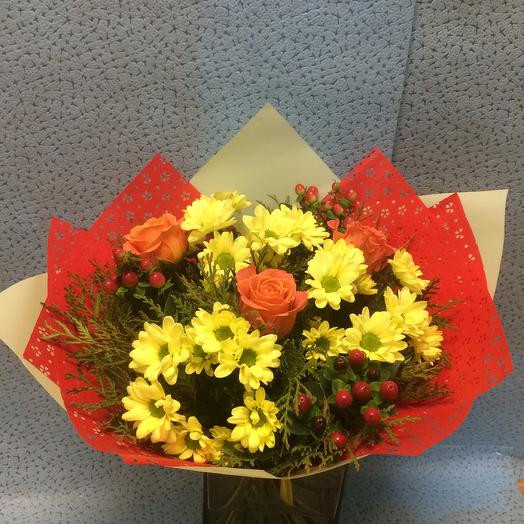 Взгляд чародейки: букеты цветов на заказ Flowwow
