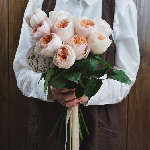 Джульетта Девид Остин: букеты цветов на заказ Flowwow