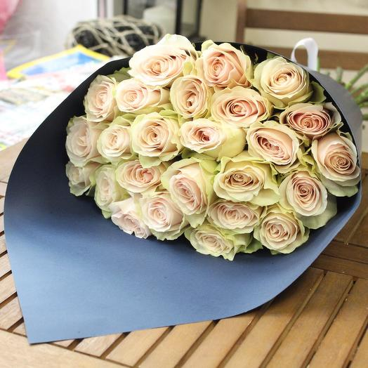 25 роз Premium. Craft