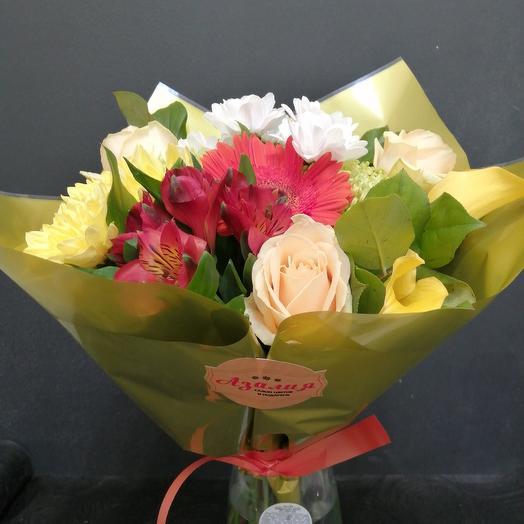 Лимонный пирог: букеты цветов на заказ Flowwow