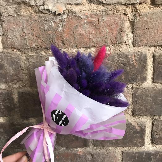 Пушистик love: букеты цветов на заказ Flowwow