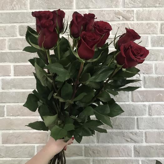 Букет красных роз: букеты цветов на заказ Flowwow