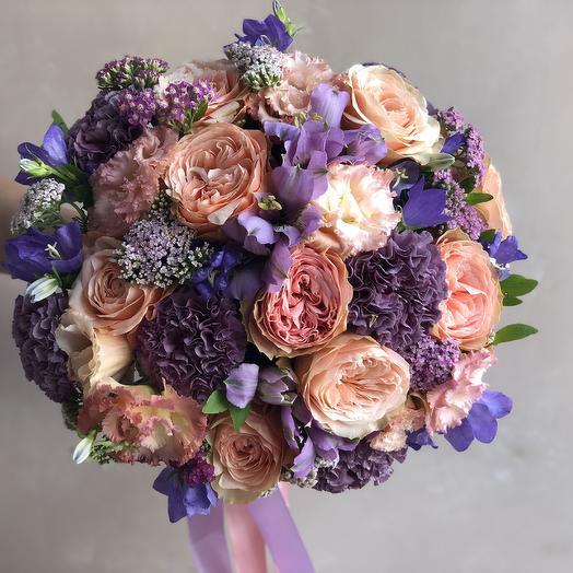 Букет «Сапфир»: букеты цветов на заказ Flowwow