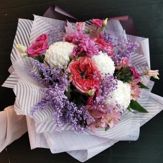 Сиреневый закат: букеты цветов на заказ Flowwow