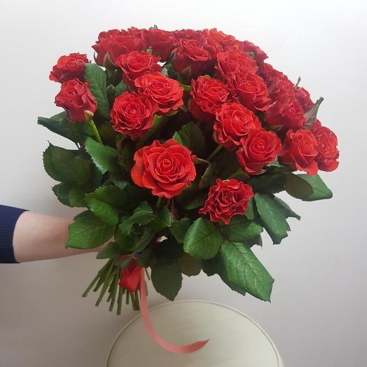 Розы Эллторо 35: букеты цветов на заказ Flowwow