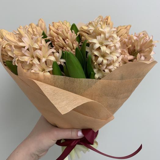 Персиковое мороженное: букеты цветов на заказ Flowwow