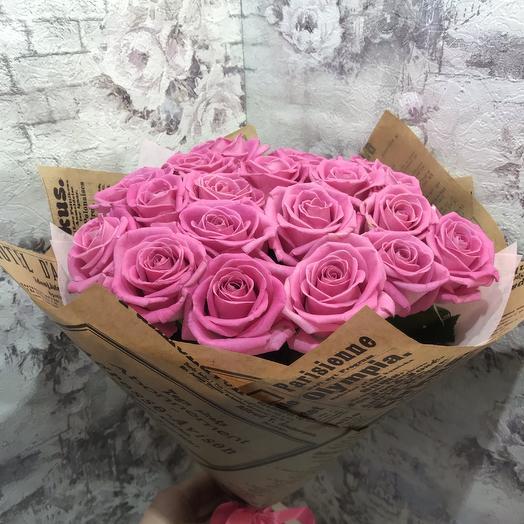 Роза аква 19 шт. 50 см
