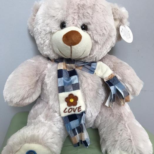 Необычный медвежонок: букеты цветов на заказ Flowwow