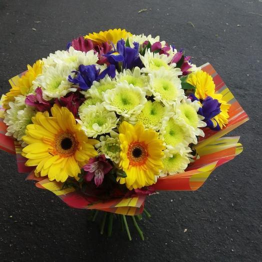 Букет «Солнечные лучи»: букеты цветов на заказ Flowwow