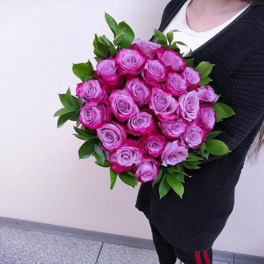 Лиловое пламя: букеты цветов на заказ Flowwow