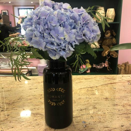 Романтик ваза с гортензиями