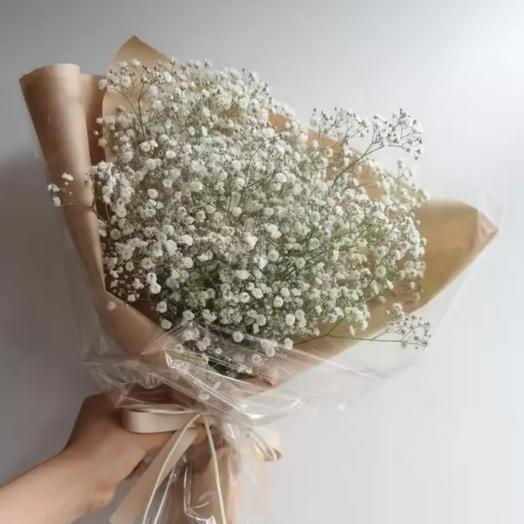 Букет из гипсофила: букеты цветов на заказ Flowwow