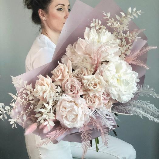 Дуо-букет: букеты цветов на заказ Flowwow