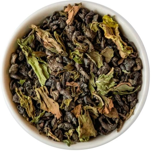 Зеленый чай с мятой
