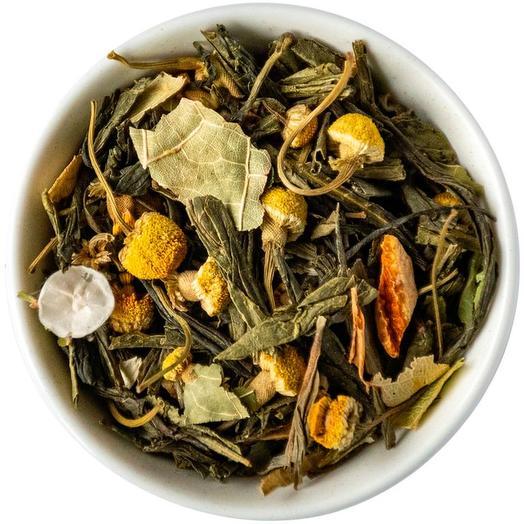 Зеленый чай с липой - Японская липа