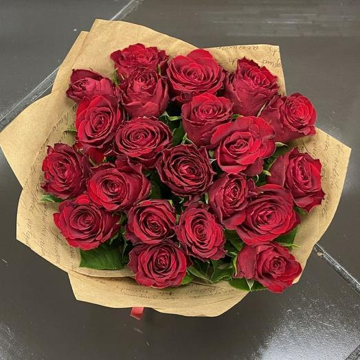 Роза Кения 40 см 21 шт