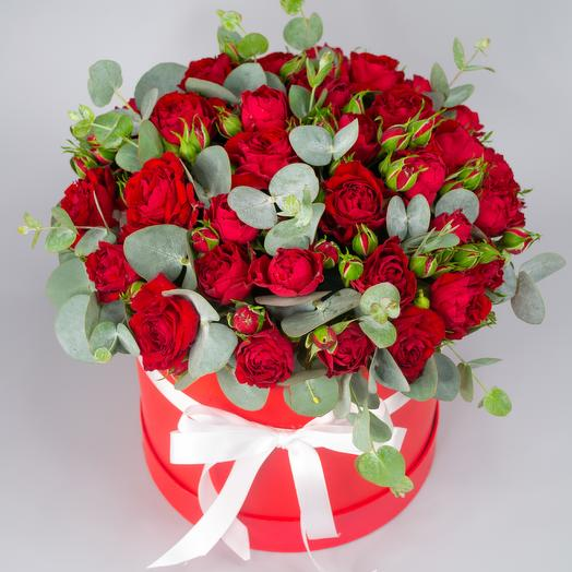 Коробочка с розами 9