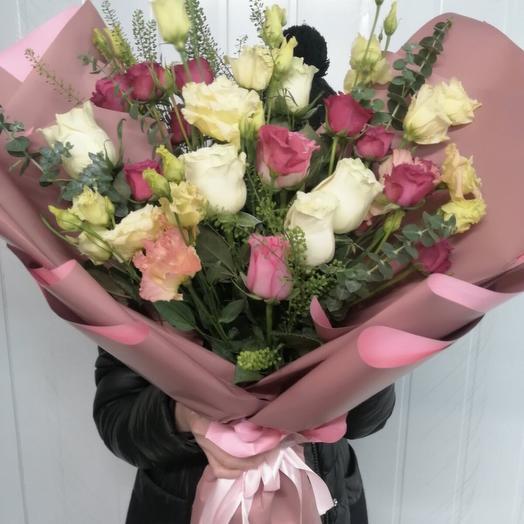 Букет «Розовое ассорти»