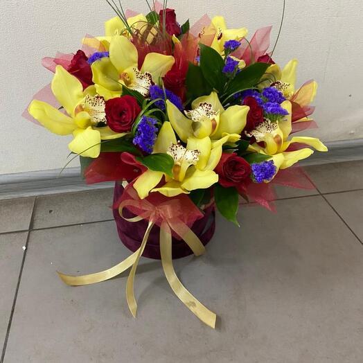 Поляна орхидейная