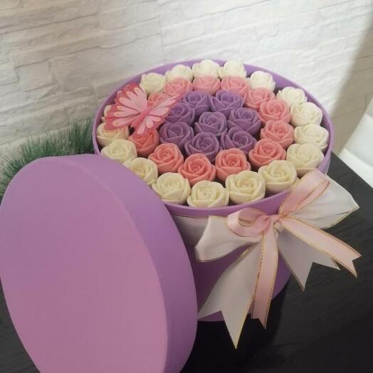 Шоколадные розы 4
