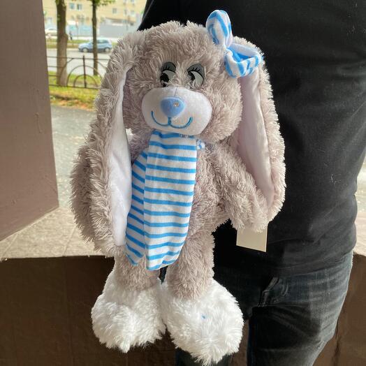Зайчик ( мягкая игрушка)