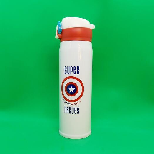 "Термос "" Super Heroes "" cap"