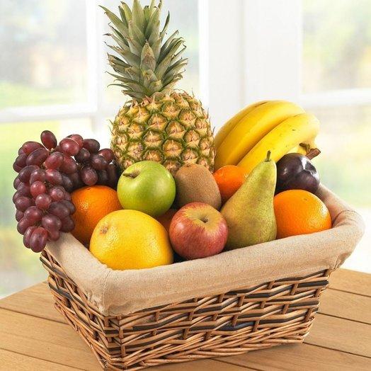 Корзина с фруктами На здоровье