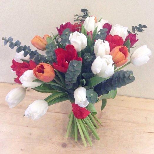Звонкая музыка: букеты цветов на заказ Flowwow