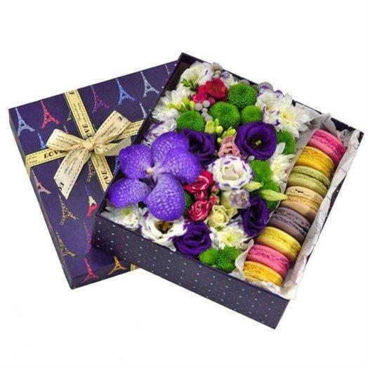 Вкусная коробочка: букеты цветов на заказ Flowwow