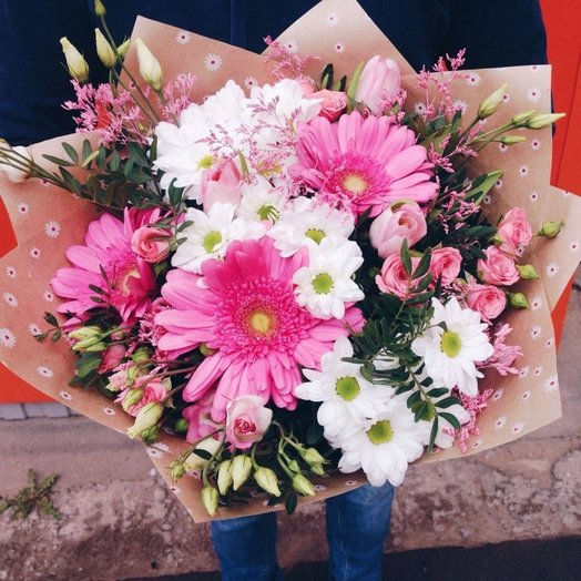 Pink Love: букеты цветов на заказ Flowwow