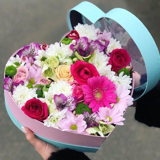 """Коробочка """"Вдохновение"""": букеты цветов на заказ Flowwow"""