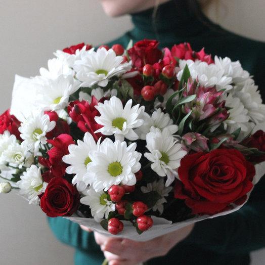 Букет сборный 5: букеты цветов на заказ Flowwow