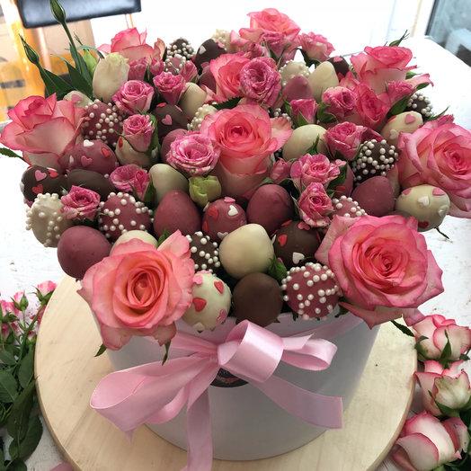 Любимой супруге: букеты цветов на заказ Flowwow