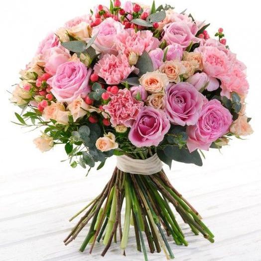 """Букет """"Розовое парфе"""": букеты цветов на заказ Flowwow"""
