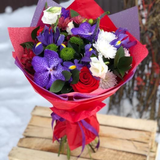 Стереобукет Latina: букеты цветов на заказ Flowwow