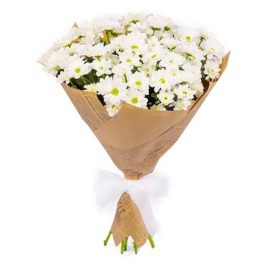 Букет из кустовых хризантем: букеты цветов на заказ Flowwow