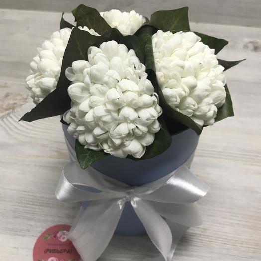 Подснежники в коробочке: букеты цветов на заказ Flowwow
